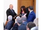 """""""Искам бебе"""" връчи """"Ангел на благодарността"""" на премиера Борисов"""